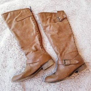 Madden Girl Cactuss Studded Boots